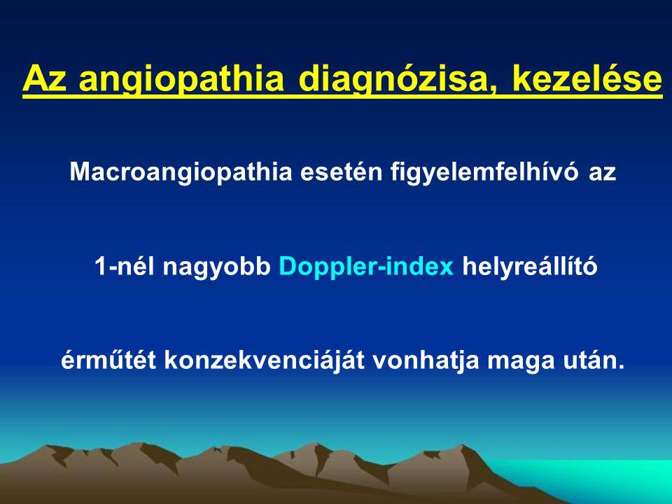 Az angiopathia diagnózisa, kezelése