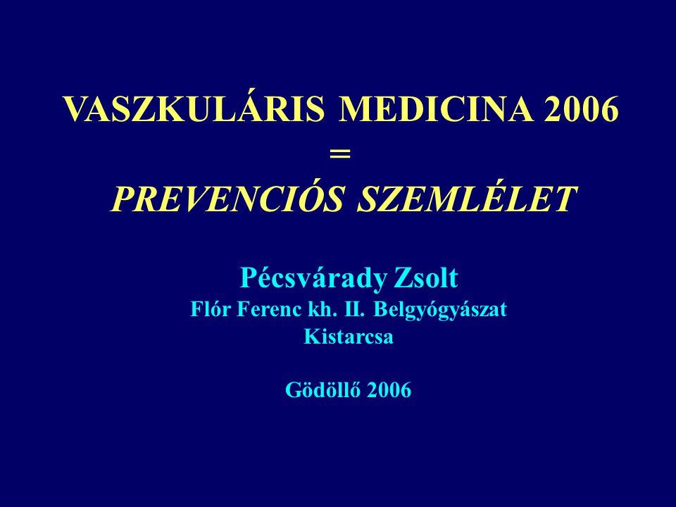 Flór Ferenc kh. II. Belgyógyászat