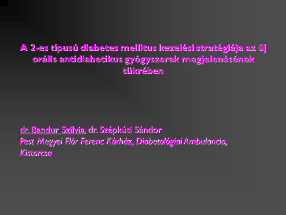 A 2-es típusú diabetes mellitus kezelési stratégiája az új orális antidiabetikus gyógyszerek megjelenésének tükrében