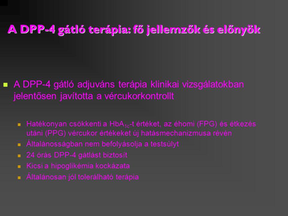 A DPP-4 gátló terápia: fő jellemzők és előnyök