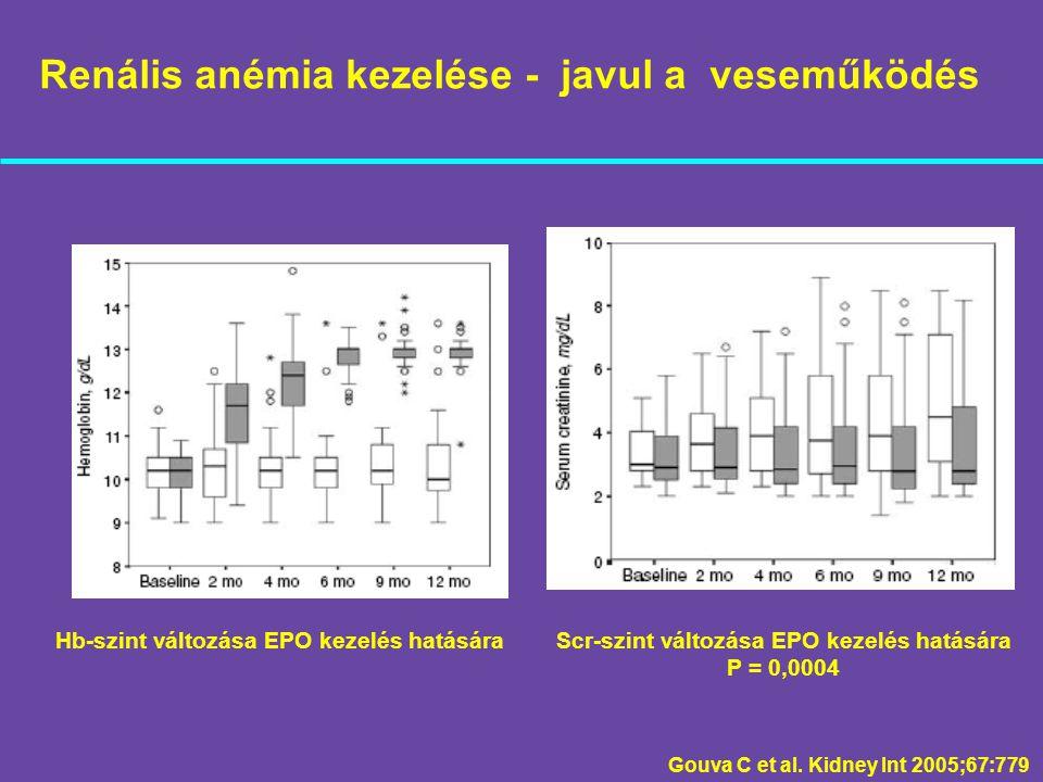 Renális anémia kezelése - javul a veseműködés