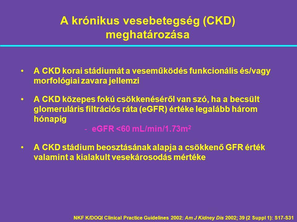 A krónikus vesebetegség (CKD) meghatározása