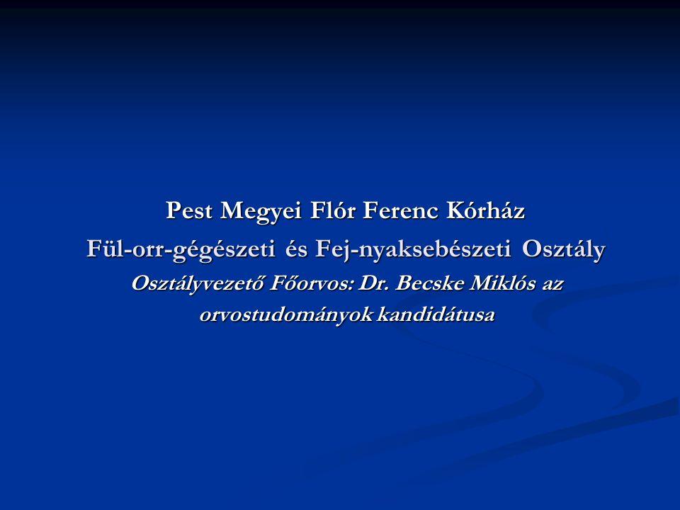 Pest Megyei Flór Ferenc Kórház