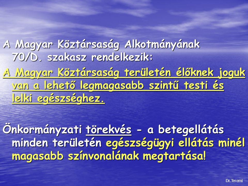 A Magyar Köztársaság Alkotmányának 70/D. szakasz rendelkezik: