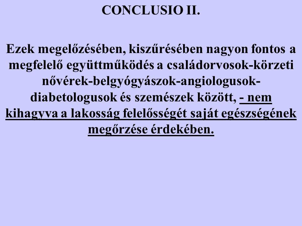 CONCLUSIO II.