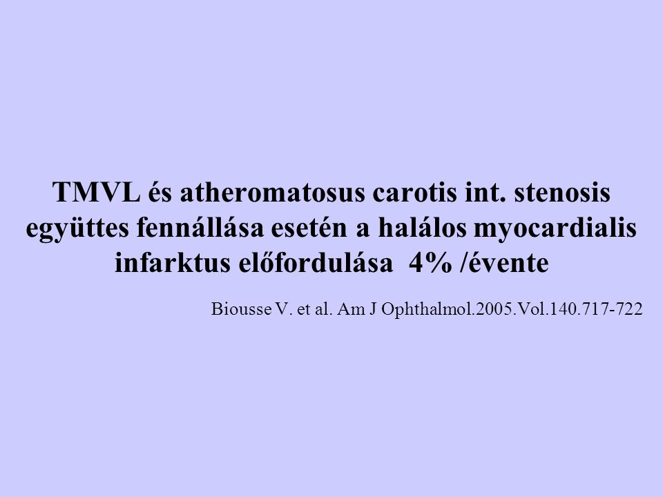 Biousse V. et al. Am J Ophthalmol.2005.Vol.140.717-722