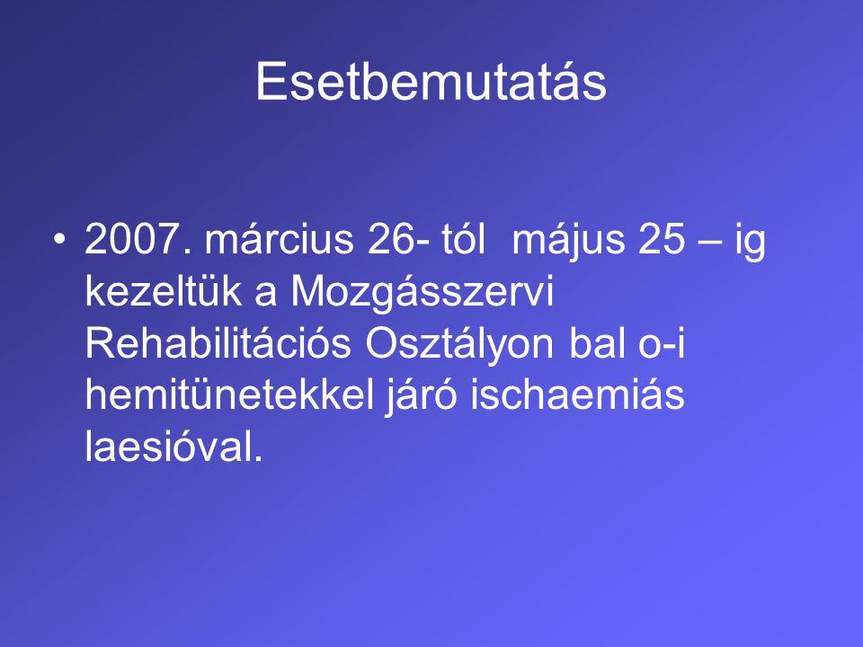 Esetbemutatás 2007.