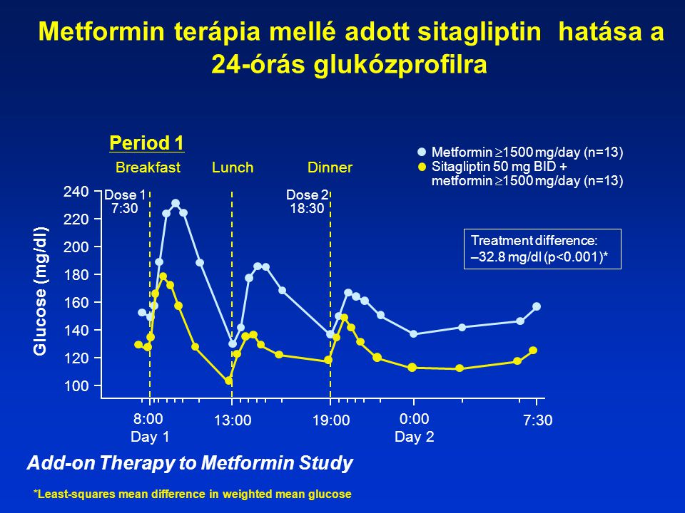 Add-on Therapy to Metformin Study
