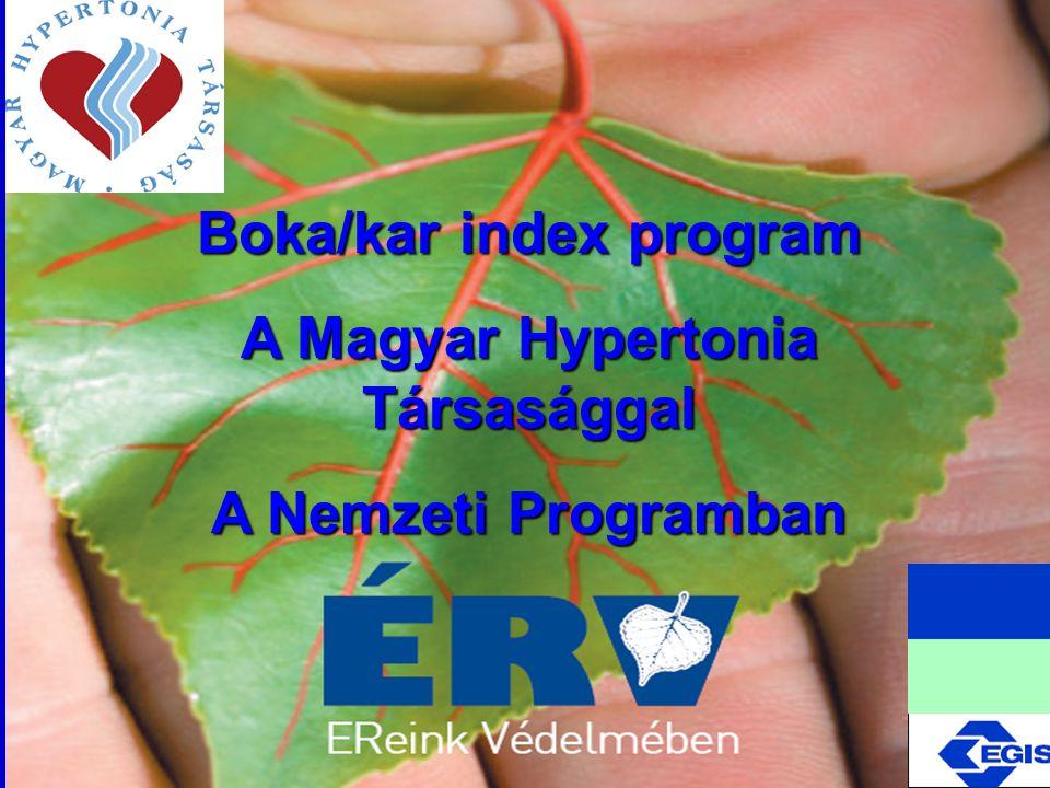 Boka/kar index program A Magyar Hypertonia Társasággal