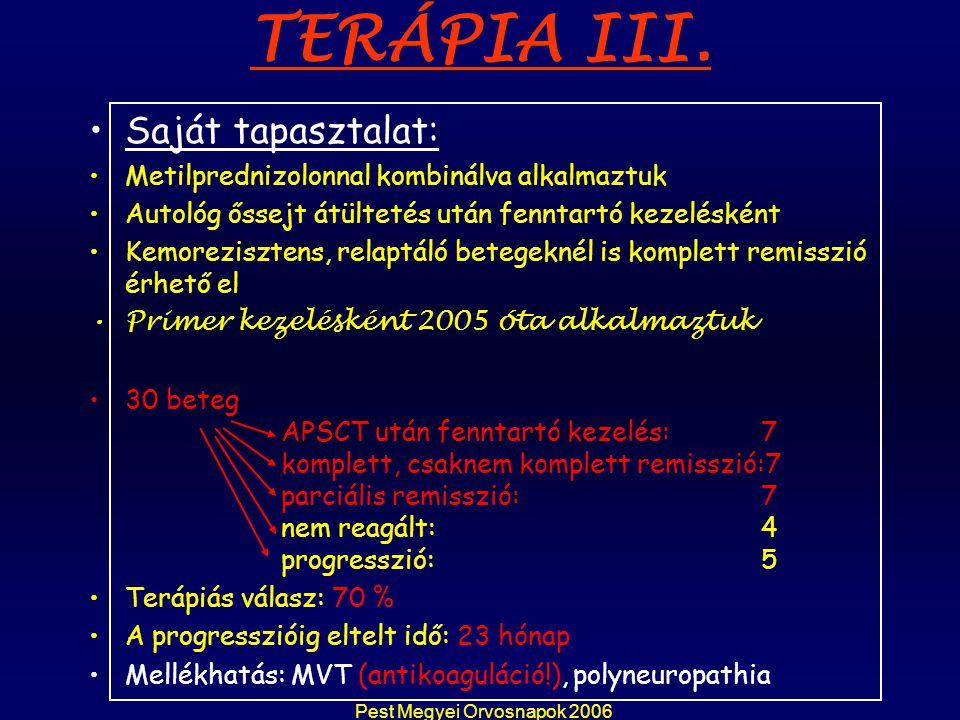 Pest Megyei Orvosnapok 2006