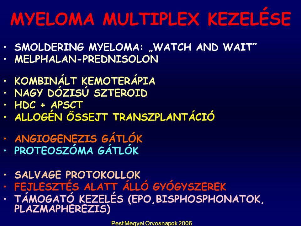 MYELOMA MULTIPLEX KEZELÉSE
