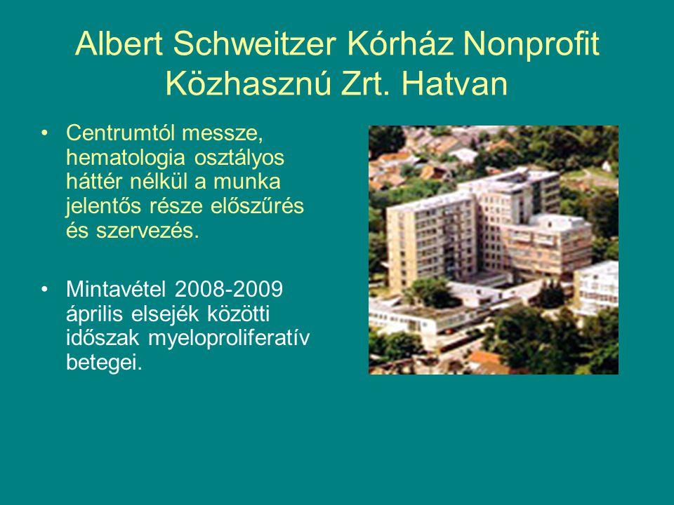 Albert Schweitzer Kórház Nonprofit Közhasznú Zrt. Hatvan