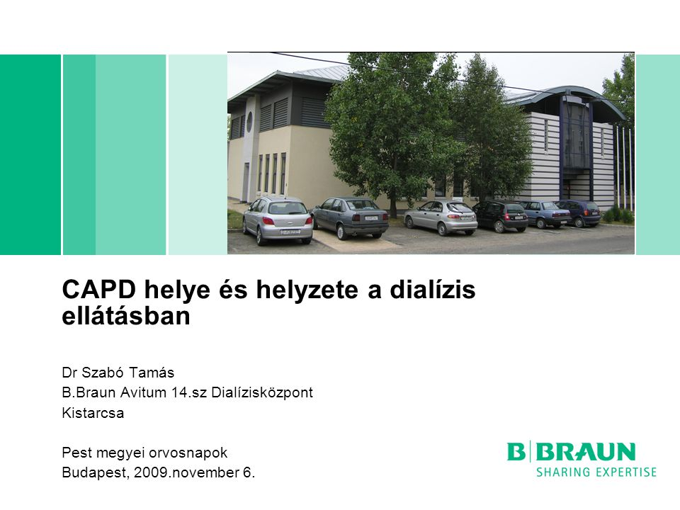 CAPD helye és helyzete a dialízis ellátásban