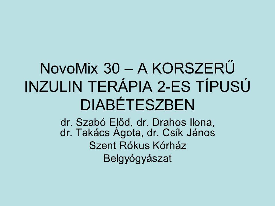 NovoMix 30 – A KORSZERŰ INZULIN TERÁPIA 2-ES TÍPUSÚ DIABÉTESZBEN