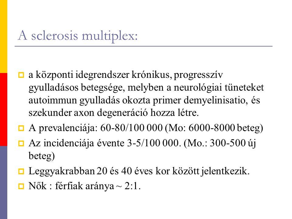 A sclerosis multiplex: