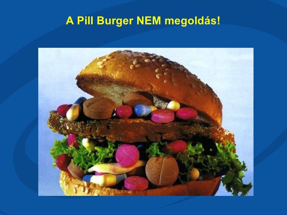 A Pill Burger NEM megoldás!