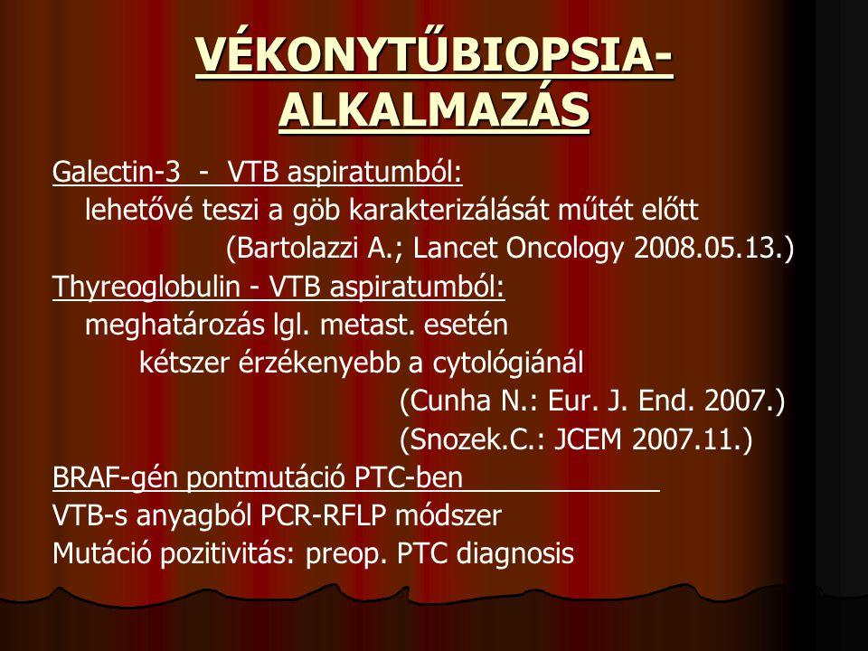 VÉKONYTŰBIOPSIA-ALKALMAZÁS