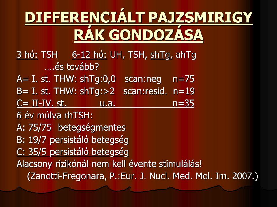 DIFFERENCIÁLT PAJZSMIRIGY RÁK GONDOZÁSA