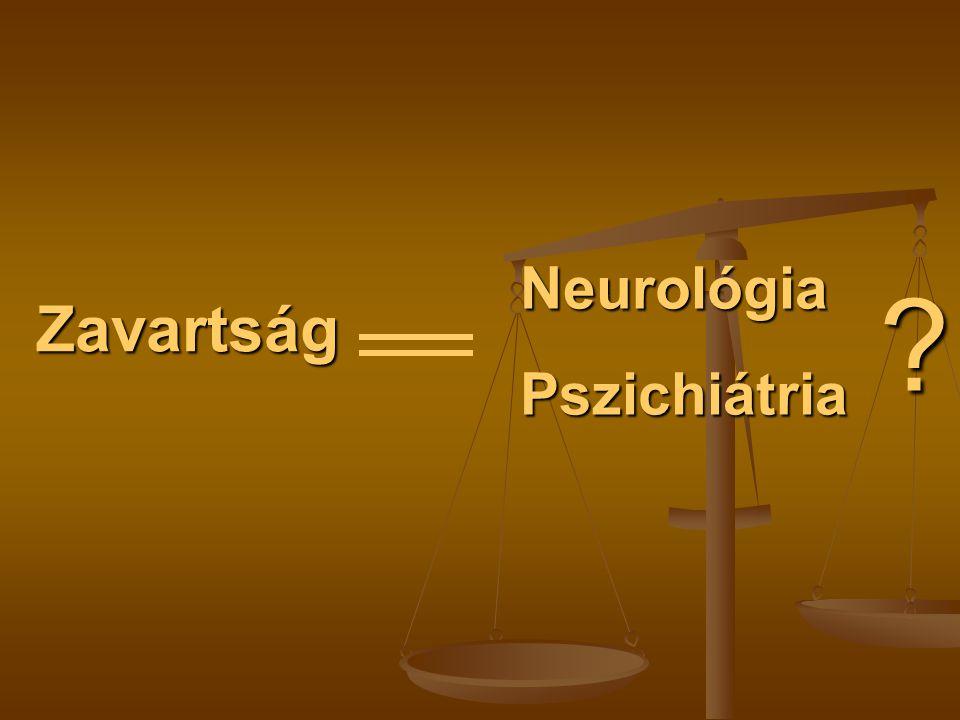 Neurológia Pszichiátria Zavartság