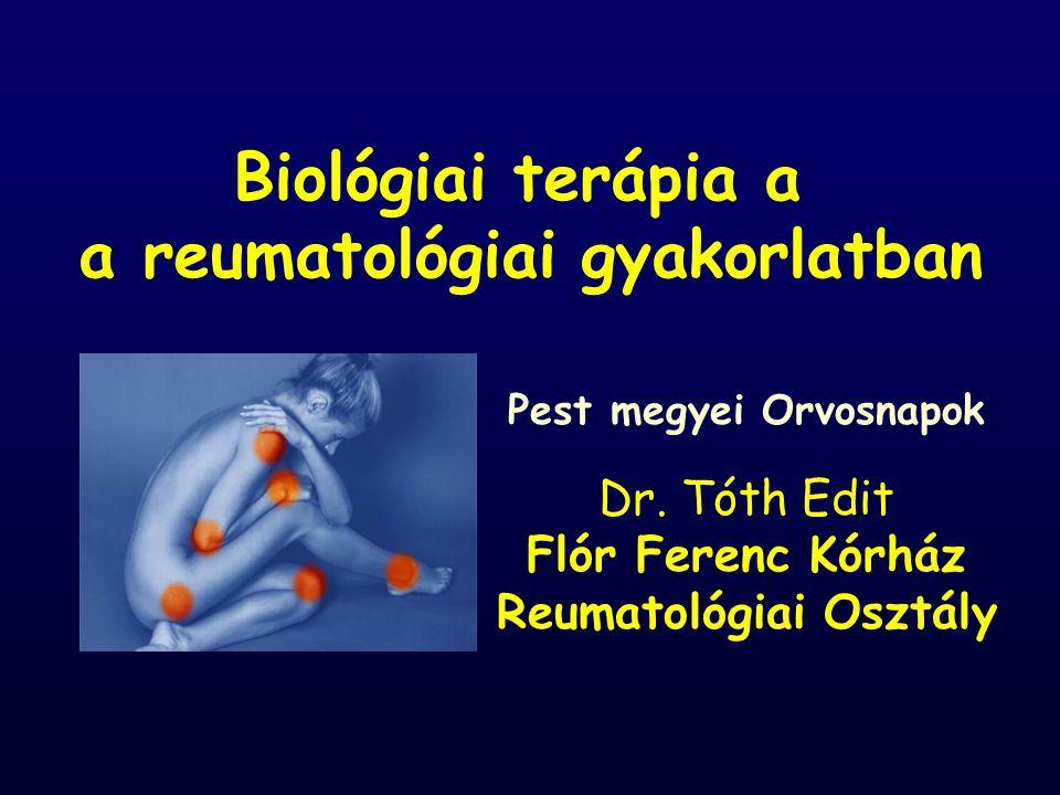 Biológiai terápia a a reumatológiai gyakorlatban