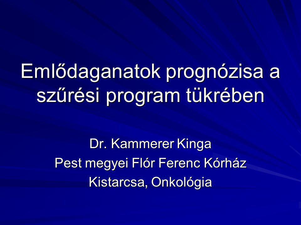 Emlődaganatok prognózisa a szűrési program tükrében