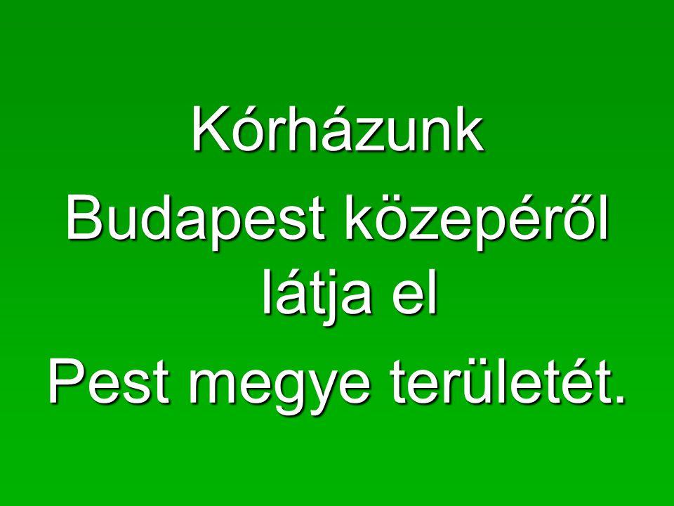 Budapest közepéről látja el