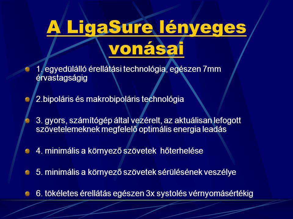 A LigaSure lényeges vonásai