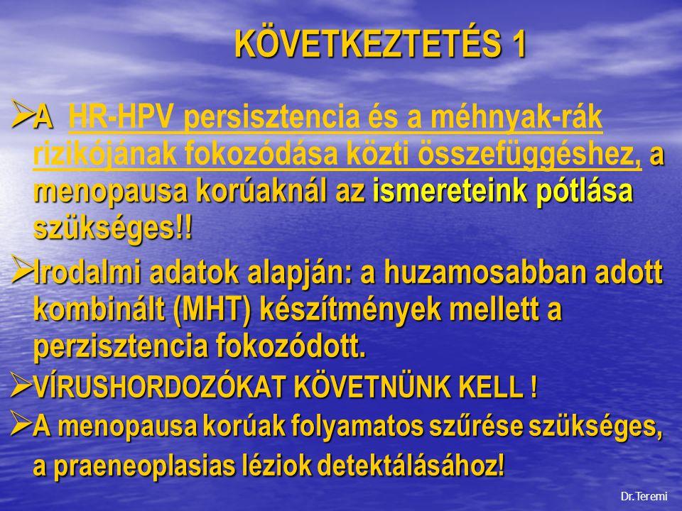 KÖVETKEZTETÉS 1