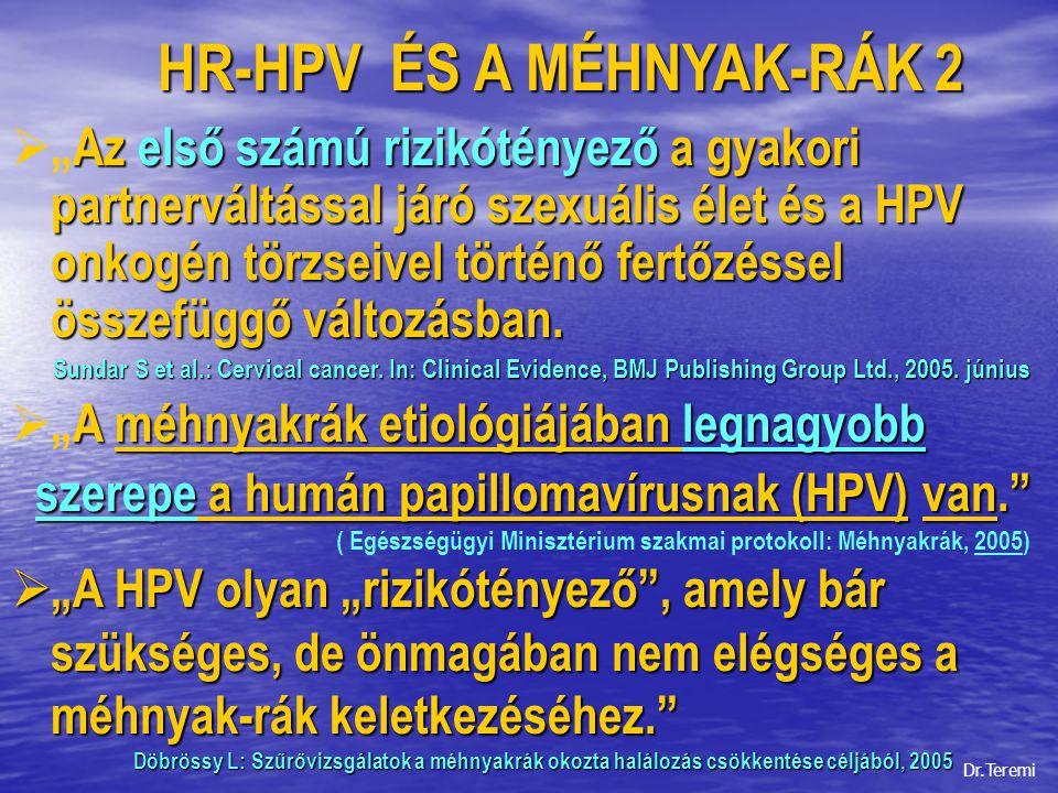 HR-HPV ÉS A MÉHNYAK-RÁK 2