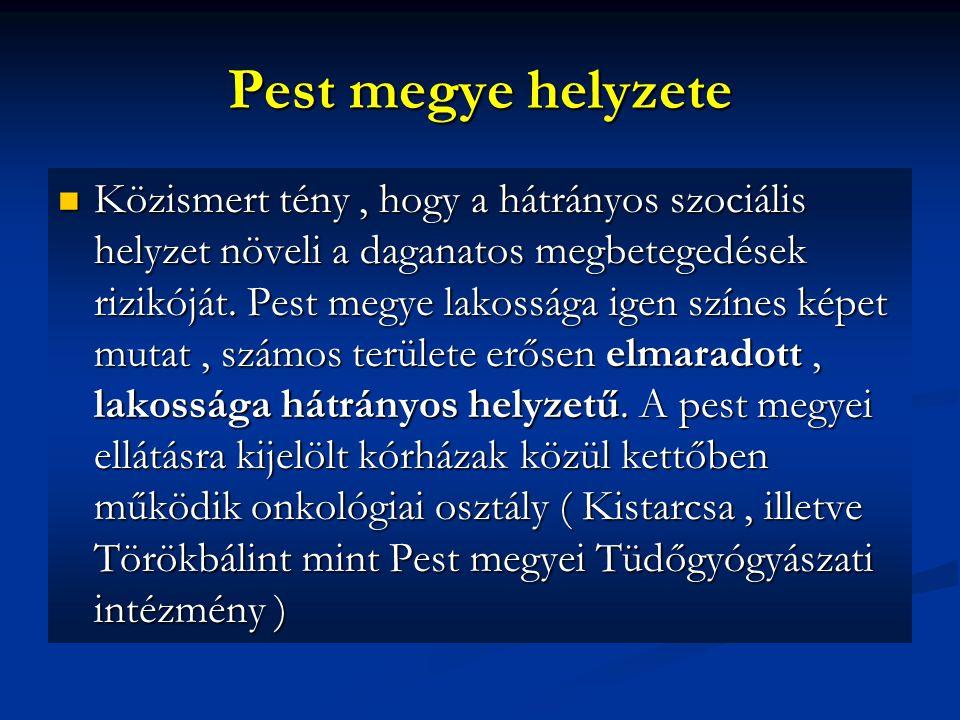 Pest megye helyzete