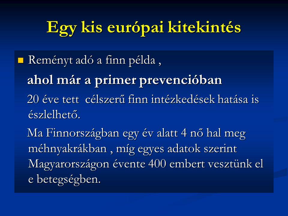Egy kis európai kitekintés