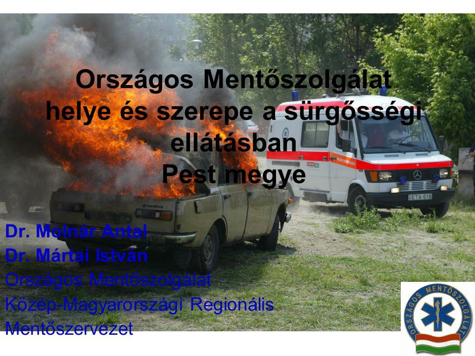 Országos Mentőszolgálat helye és szerepe a sürgősségi ellátásban Pest megye