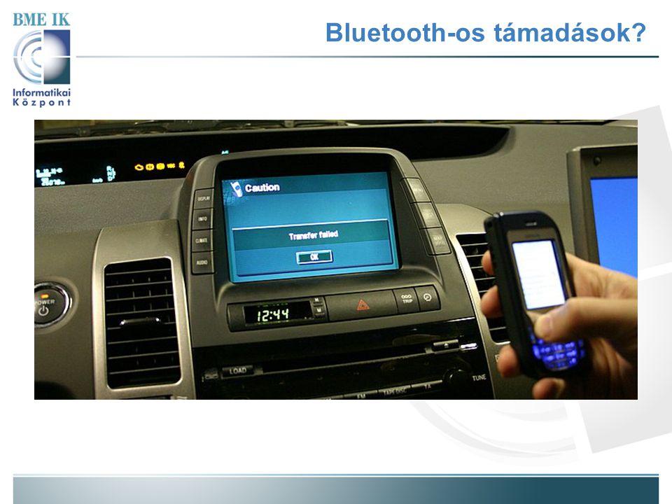 Bluetooth-os támadások