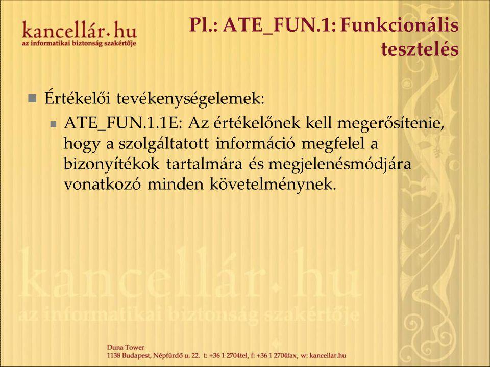 Pl.: ATE_FUN.1: Funkcionális tesztelés