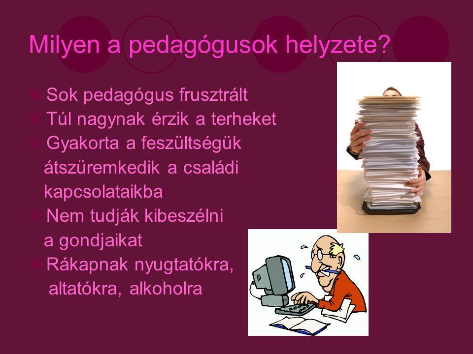 Milyen a pedagógusok helyzete