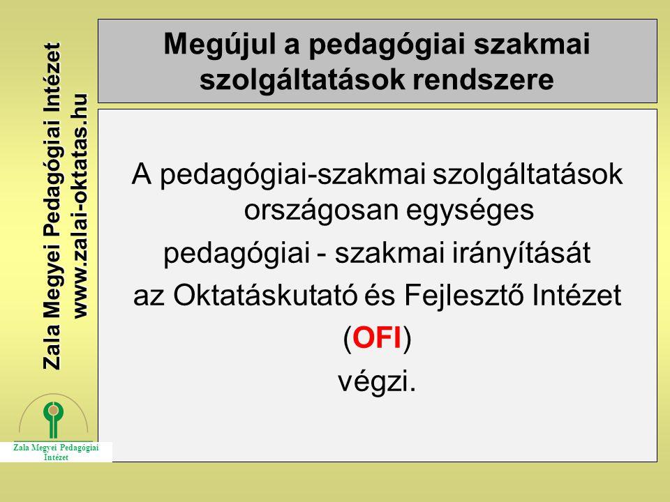 Megújul a pedagógiai szakmai szolgáltatások rendszere