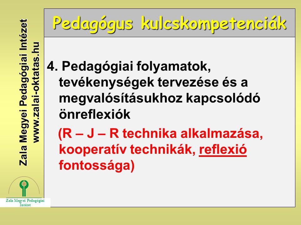 Pedagógus kulcskompetenciák