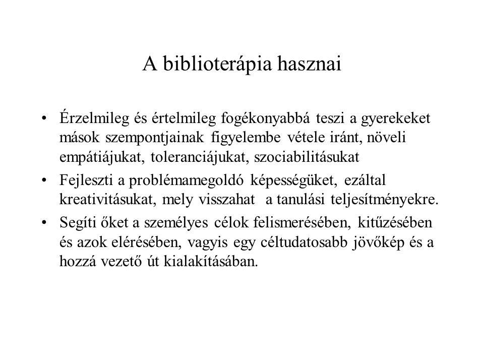 A biblioterápia hasznai