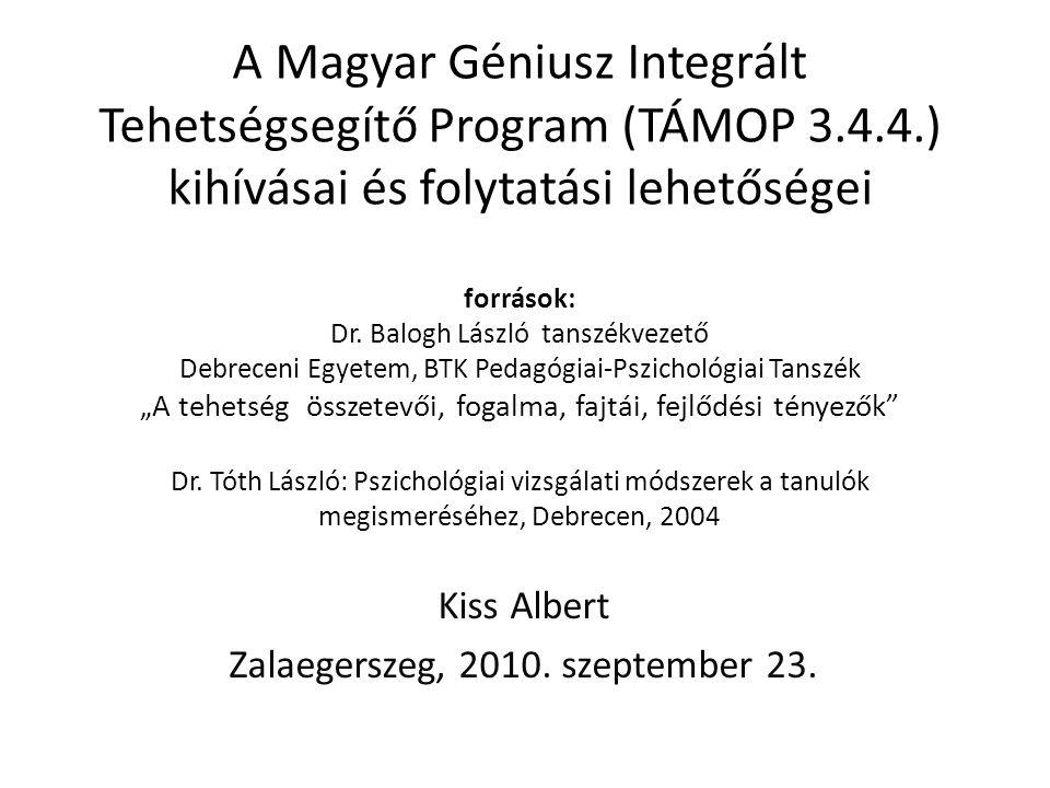 Kiss Albert Zalaegerszeg, 2010. szeptember 23.