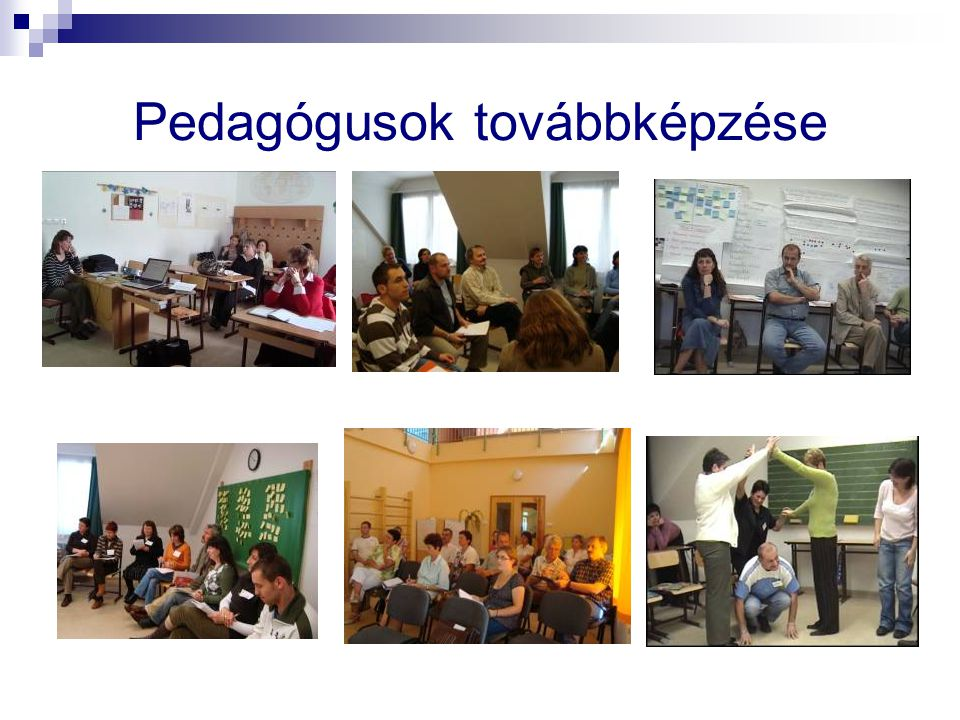 Pedagógusok továbbképzése