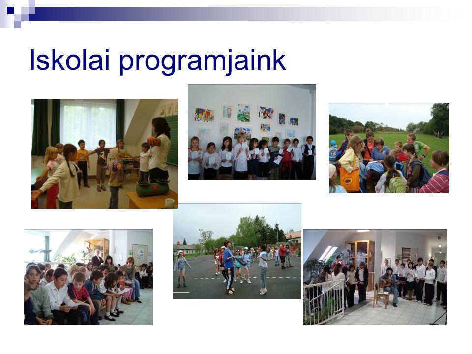 Iskolai programjaink