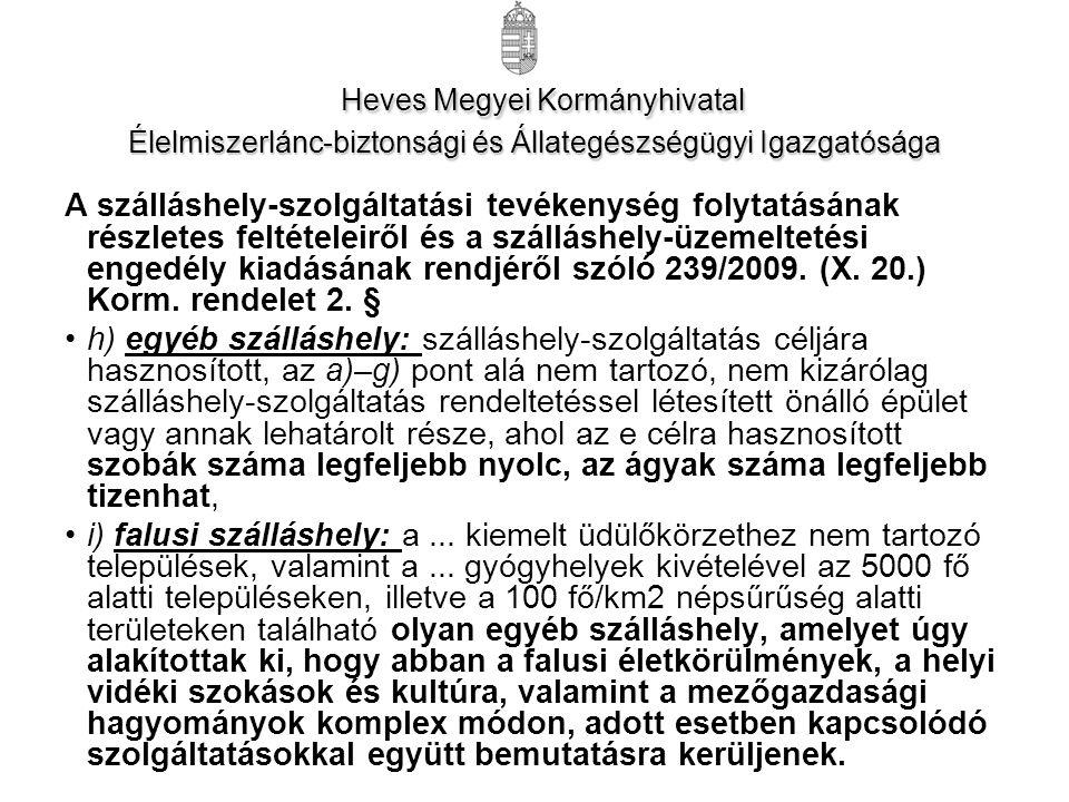 Heves Megyei Kormányhivatal Élelmiszerlánc-biztonsági és Állategészségügyi Igazgatósága