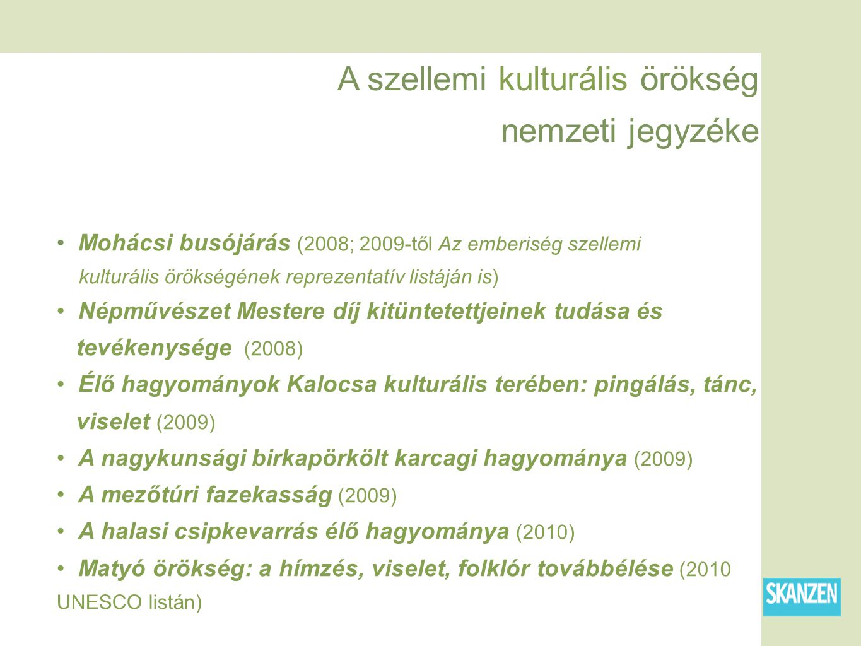 A szellemi kulturális örökség nemzeti jegyzéke