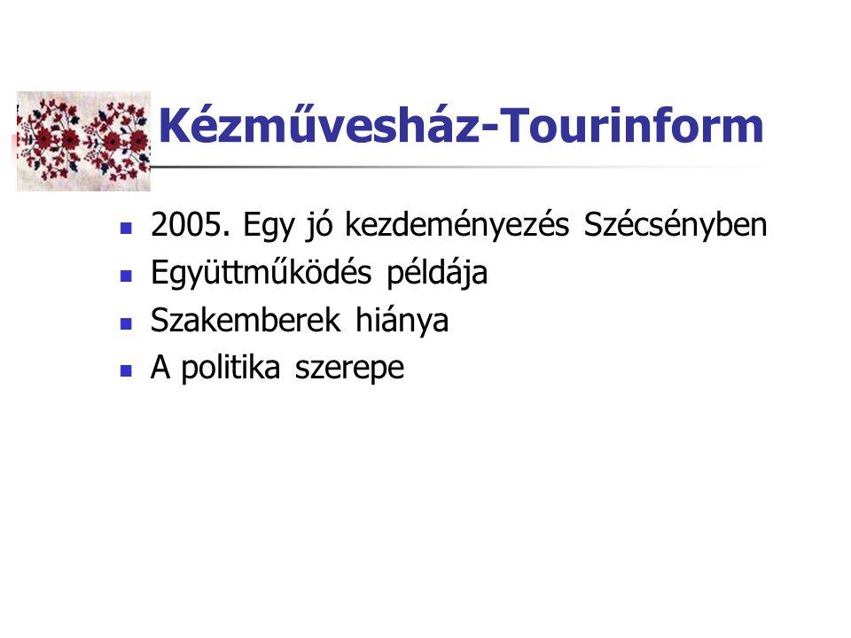 Kézművesház-Tourinform