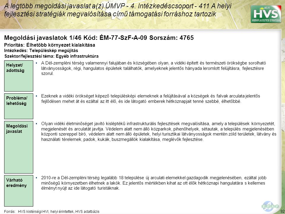 Megoldási javaslatok 1/46 Kód: ÉM-77-SzF-A-09 Sorszám: 4765