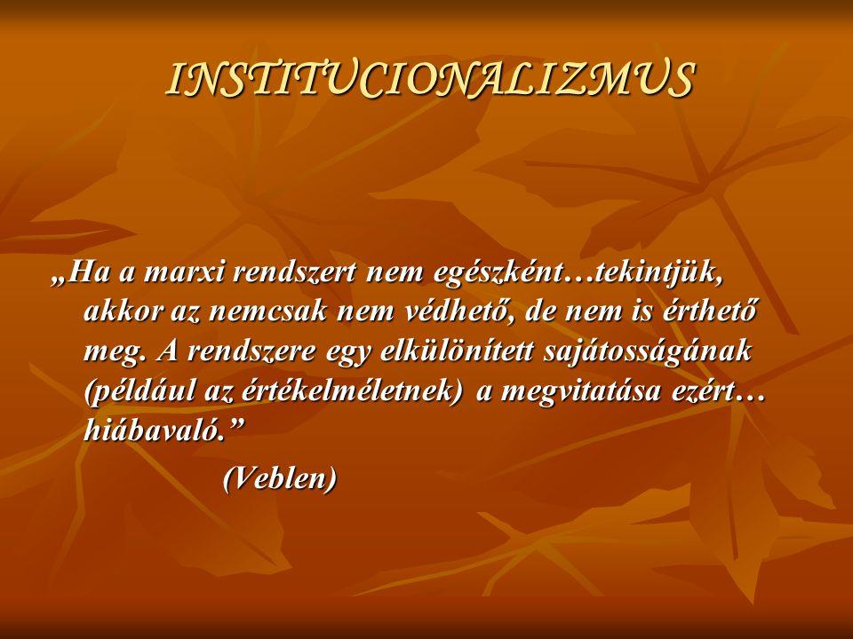 INSTITUCIONALIZMUS