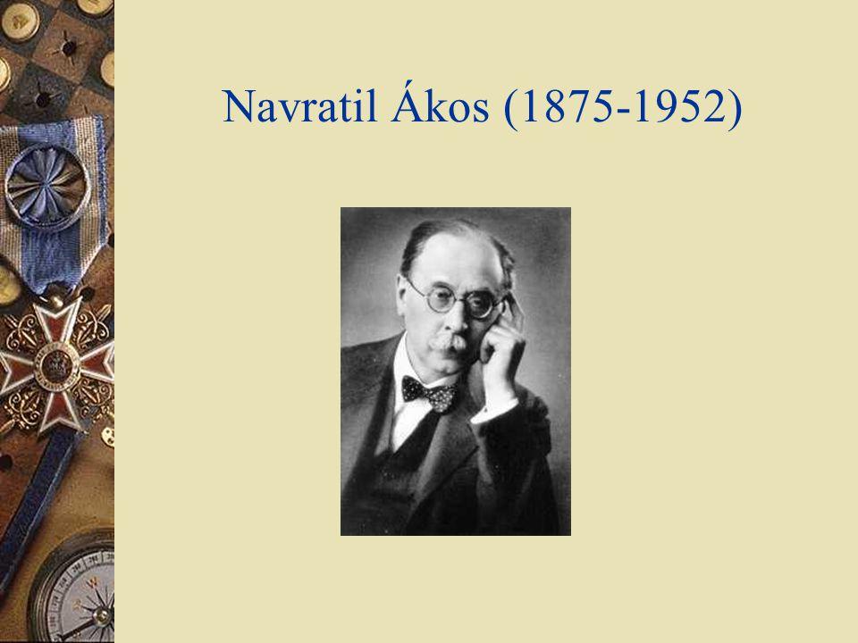 Navratil Ákos (1875-1952)
