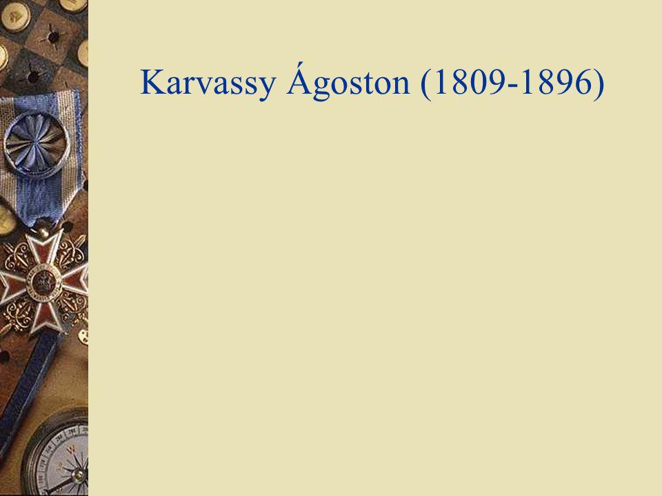 Karvassy Ágoston (1809-1896)