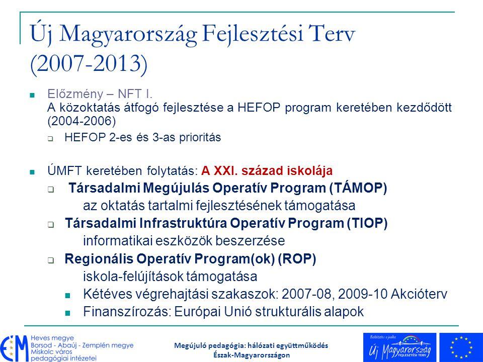 Új Magyarország Fejlesztési Terv (2007-2013)