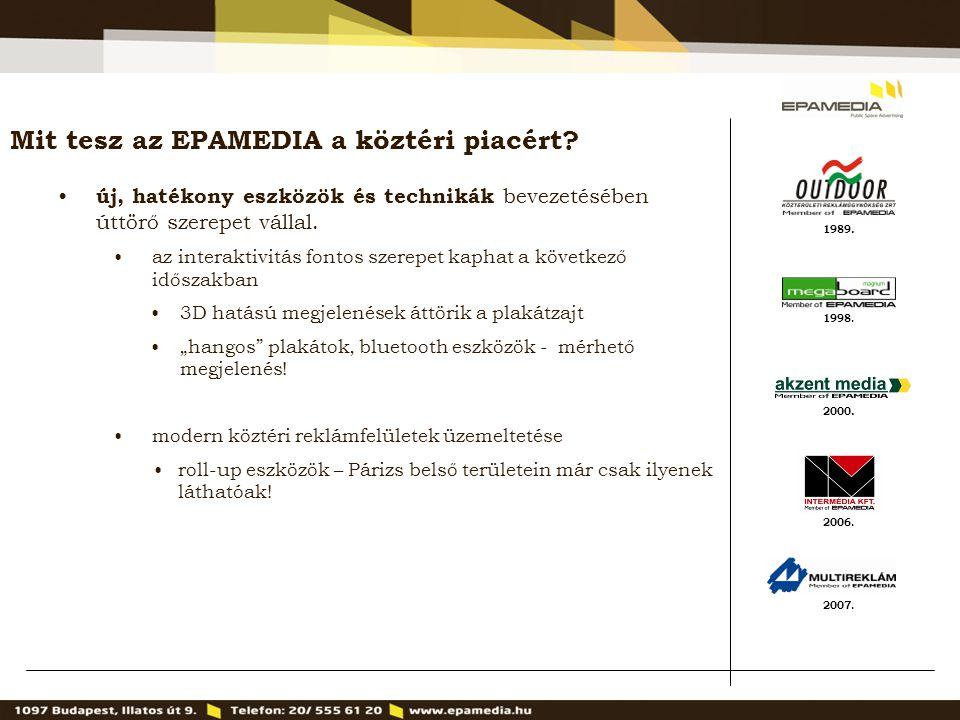 Mit tesz az EPAMEDIA a köztéri piacért